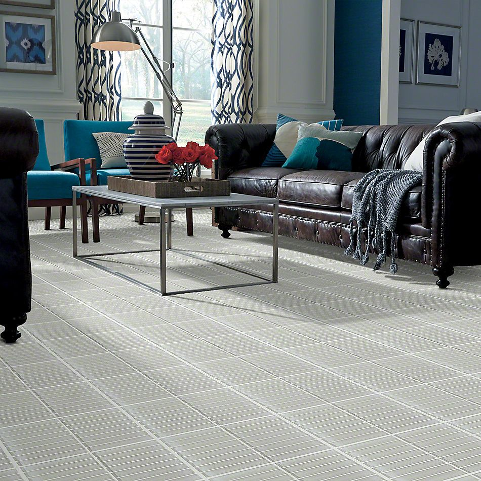 Shaw Floors SFA Paramount Stacked Glass Mosaic Mist 00250_SA15A