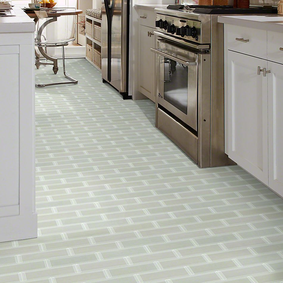 Shaw Floors Ceramic Solutions Cardinal 3×9 Beveled Glass Mist 00250_CS12Z