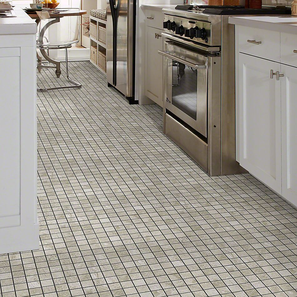 Shaw Floors Ceramic Solutions Crystal Mosaics Greige 00250_CS25W