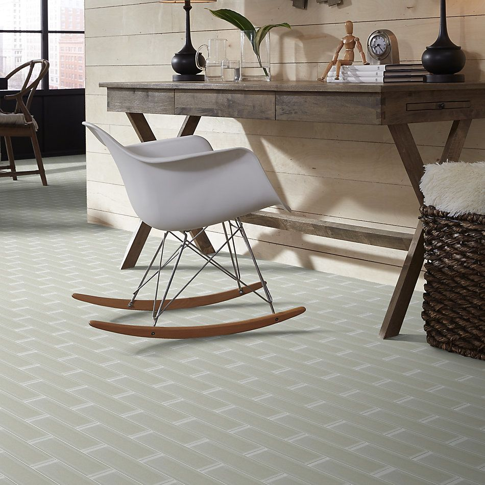 Shaw Floors Home Fn Gold Ceramic Principal 3×12 Glass Tile 2 Mist 00250_TG74B