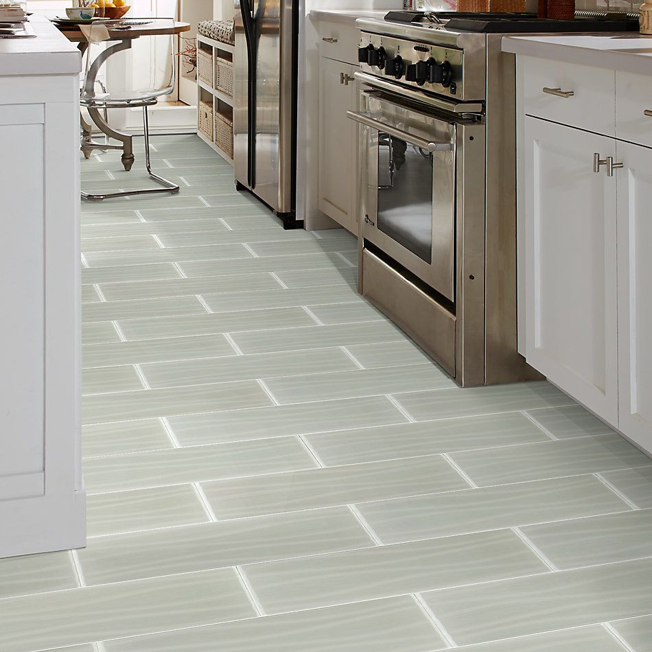 Shaw Floors Toll Brothers Ceramics Principal 8x24tidal Glass Tile Mist 00250_TL77B