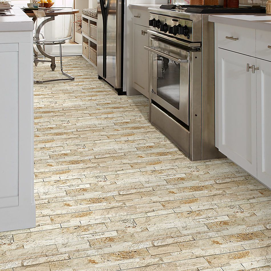 Shaw Floors Home Fn Gold Ceramic Firestone Split Face Siena Avorio 00270_TG55D