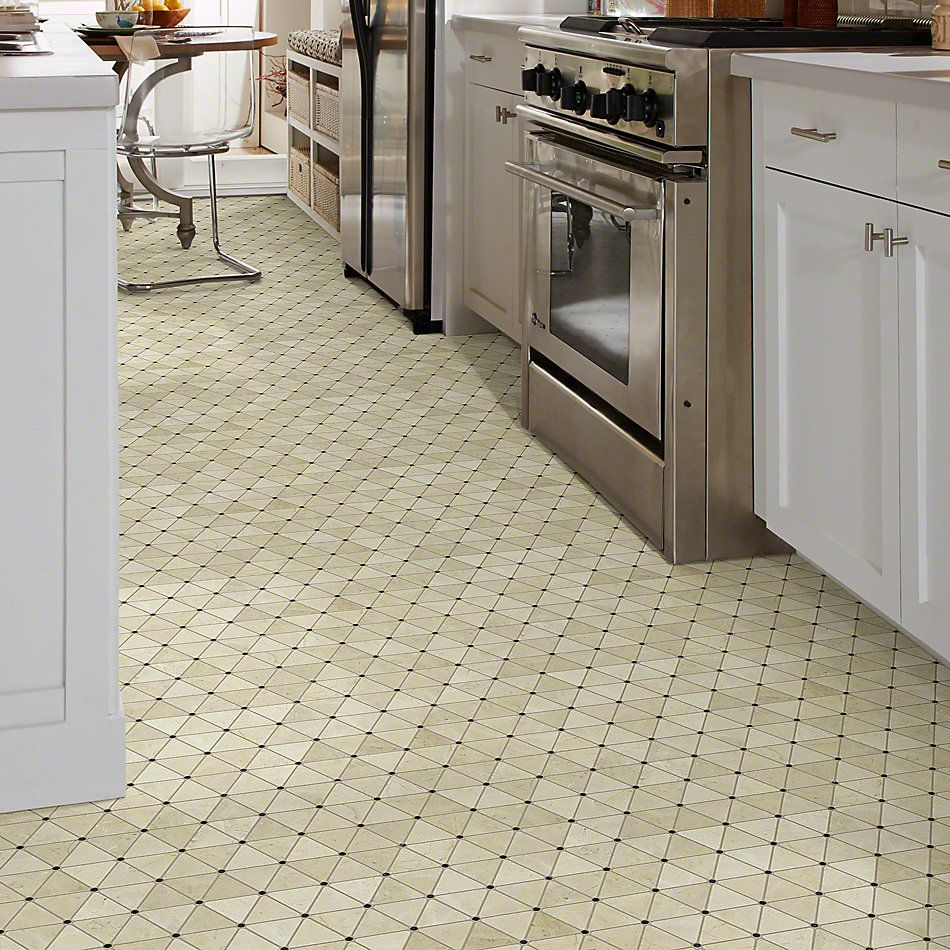 Shaw Floors Ceramic Solutions Chateau Tria W/D Crema Marfil 00290_CS21X
