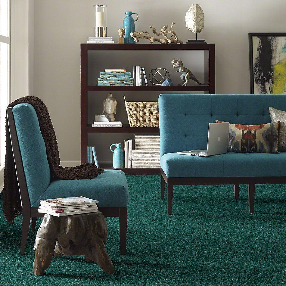 Shaw Floors Evertouch Pasadena Emerald Sea 00302_53633