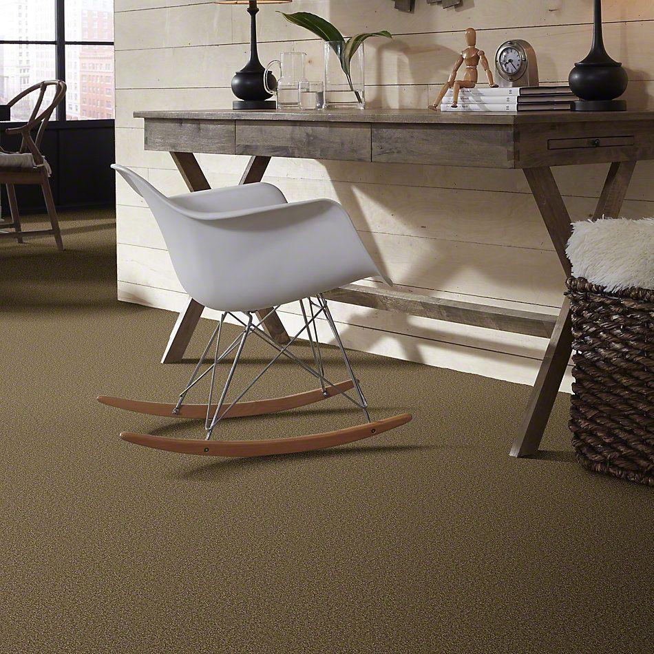 Shaw Floors Queen Sandy Hollow II 12′ Green Tea 00302_Q4275