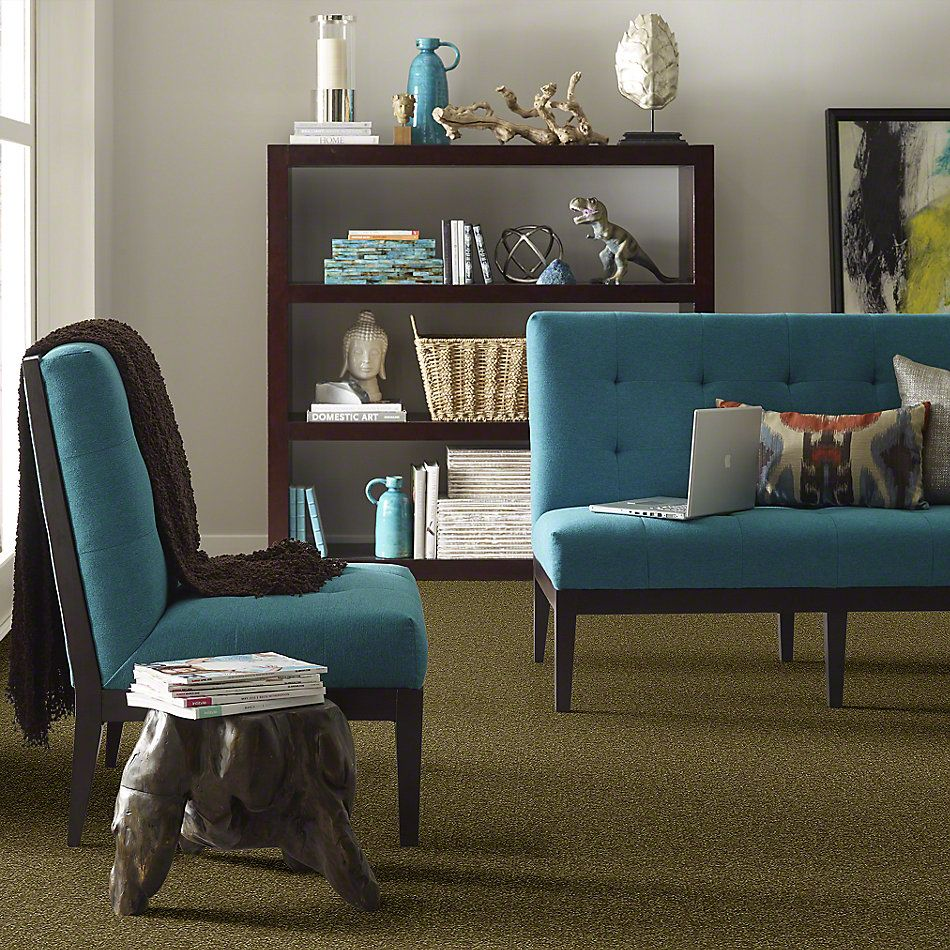 Shaw Floors Shaw Design Center Different Times II 12 Green Apple 00303_5C494