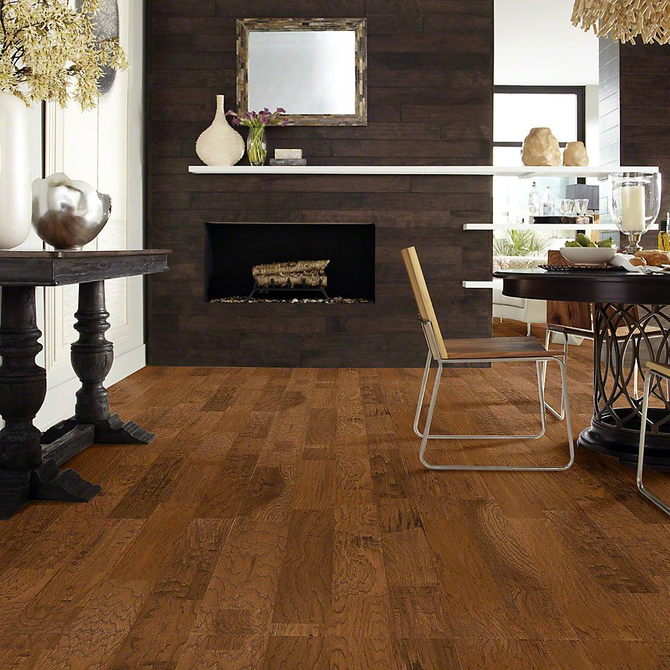 Shaw Floors Shaw Design Center Vintage Charm 5 Burnt Barnboard 00304_DC157