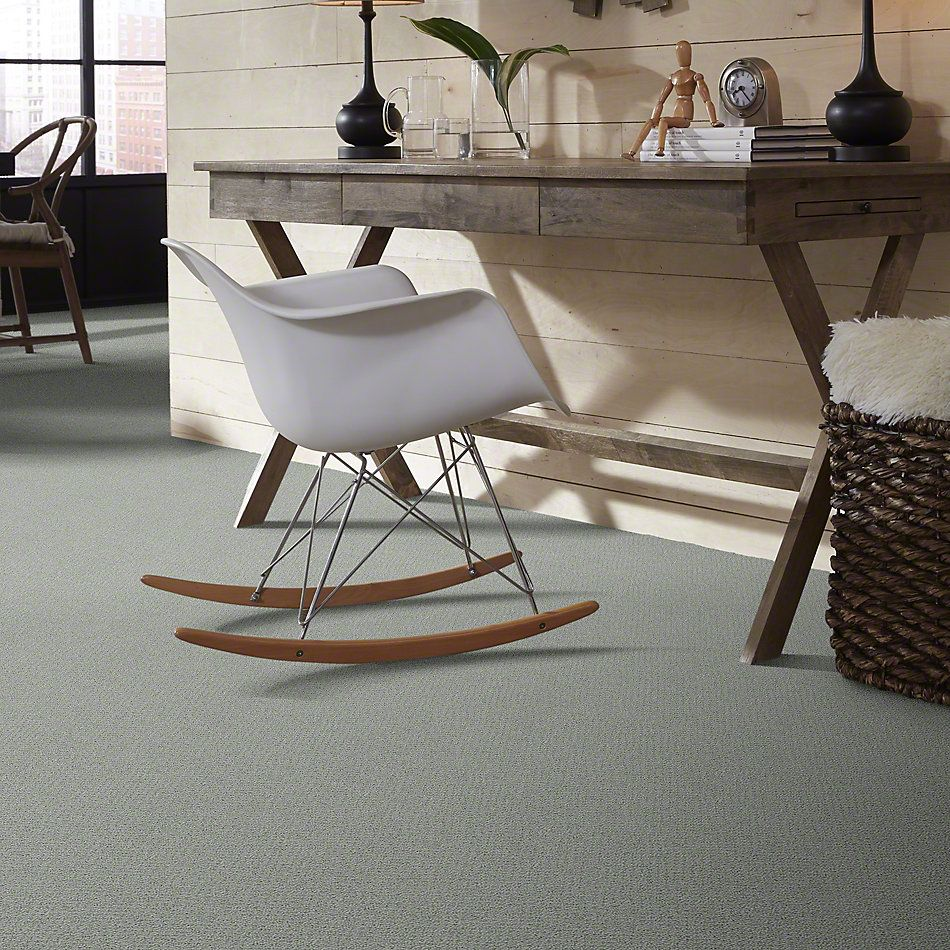 Shaw Floors Truly Relaxed Loop Silver Sage 00350_E0657