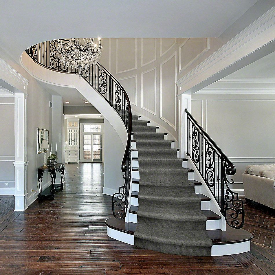 Shaw Floors Shaw Flooring Gallery Supreme Comfort Loop Blue Chateau 00400_5469G