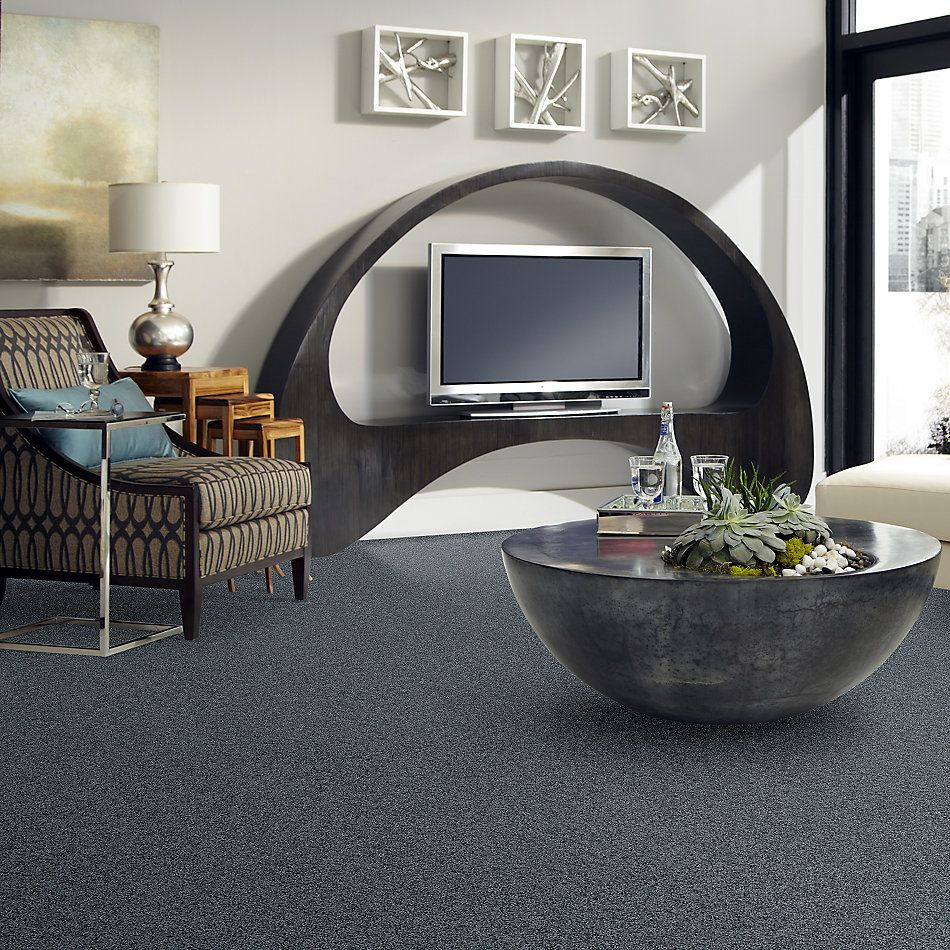Shaw Floors Carpet Diem Denim Blue 00400_6E009