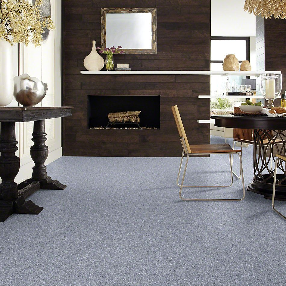 Shaw Floors Queen Sandy Hollow I 15′ Blue Suede 00400_Q4274