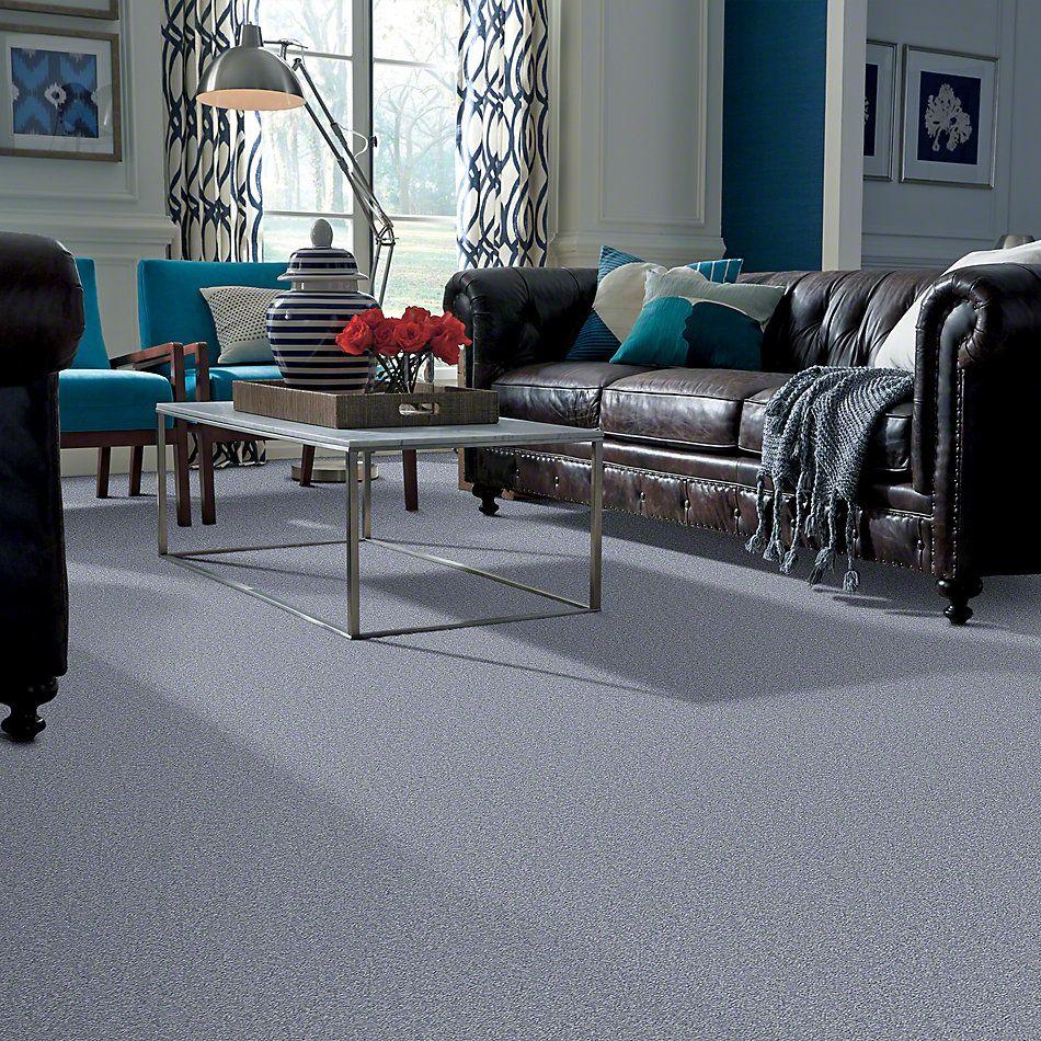 Shaw Floors Sandy Hollow II 15′ Blue Suede 00400_Q4276