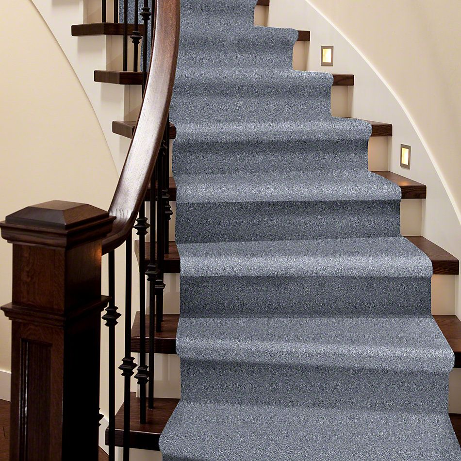 Shaw Floors Sandy Hollow III 15′ Blue Suede 00400_Q4278