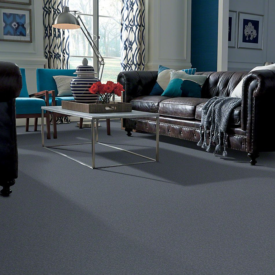 Shaw Floors SFA Timeless Appeal I 12′ Blue Suede 00400_Q4310