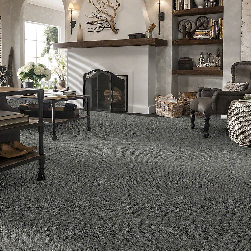 Shaw Floors Timeless Charm Loop Blue Chateau 00400_E0405