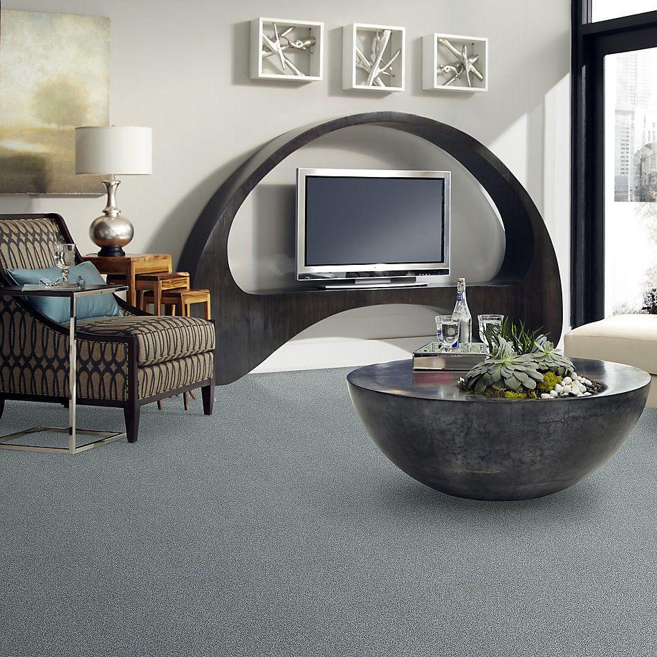 Shaw Floors Bellera Just A Hint II Net Aquamarine 00400_E9784