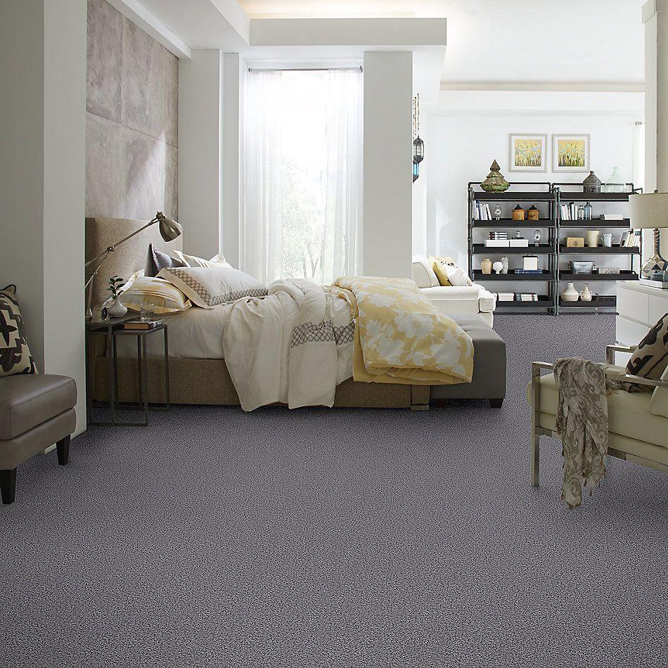 Shaw Floors Home Foundations Gold Short & Sweet (s) Dusk Blue 00400_HGJ65