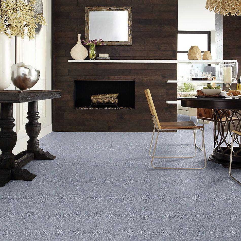Shaw Floors Shaw Floor Studio Bright Spirit II 12′ Blue Suede 00400_Q4650