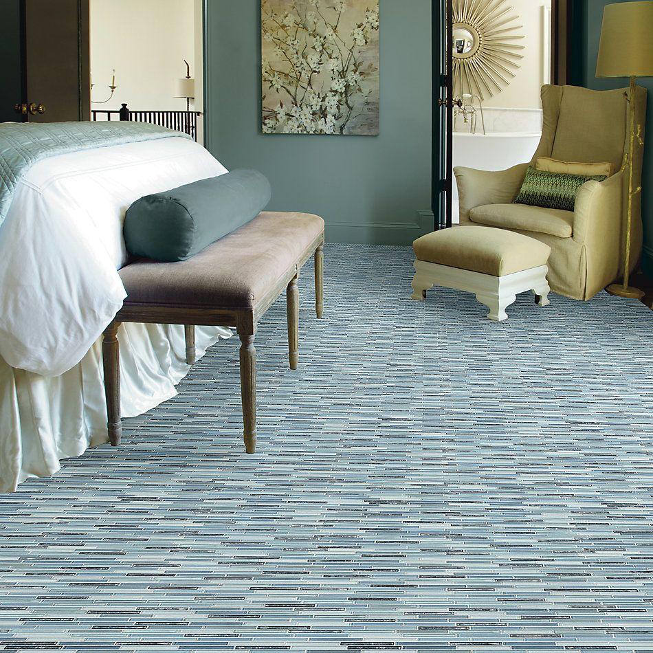 Shaw Floors Home Fn Gold Ceramic Molten Linear Glass Santorini 00400_TGJ83