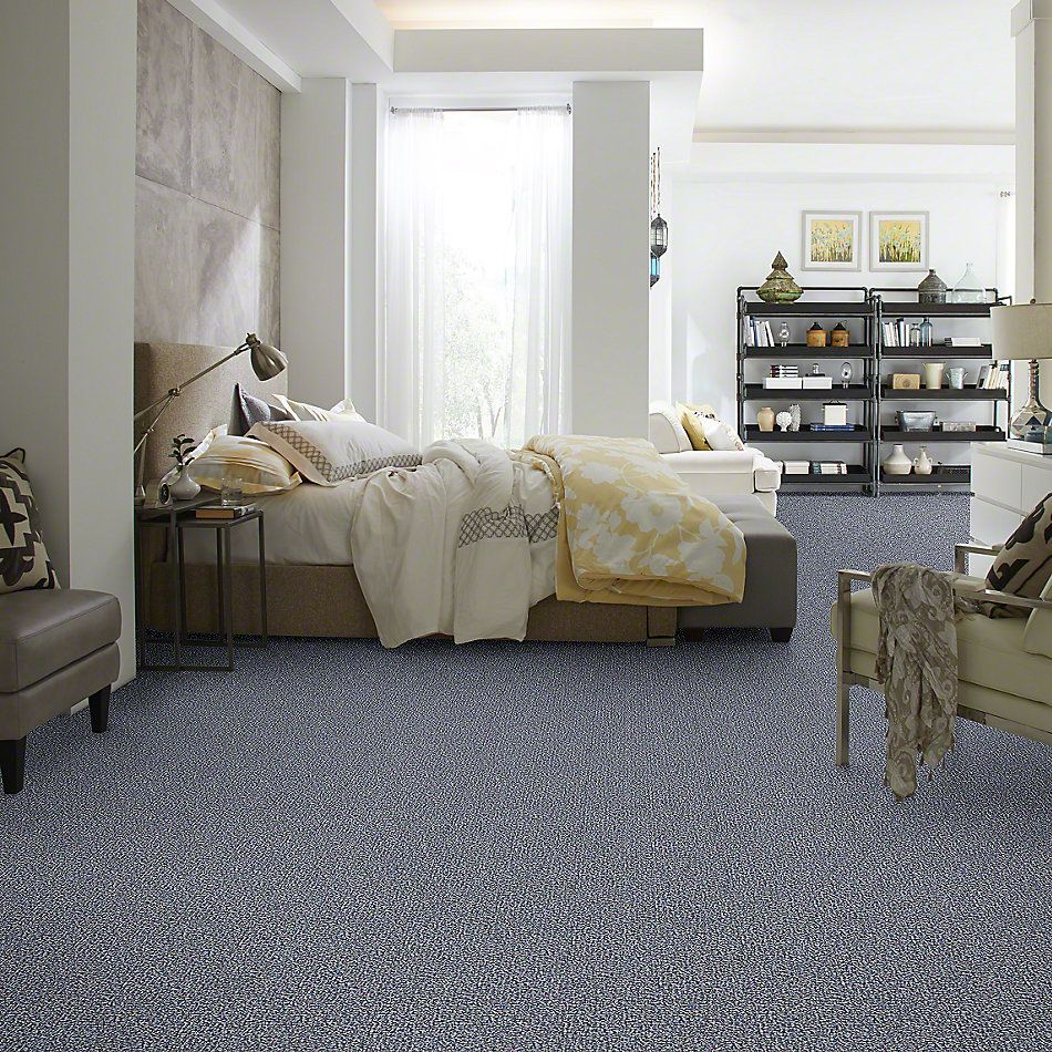 Shaw Floors SFA Riverknoll 15 Sapphire Shimmer 00401_52H71