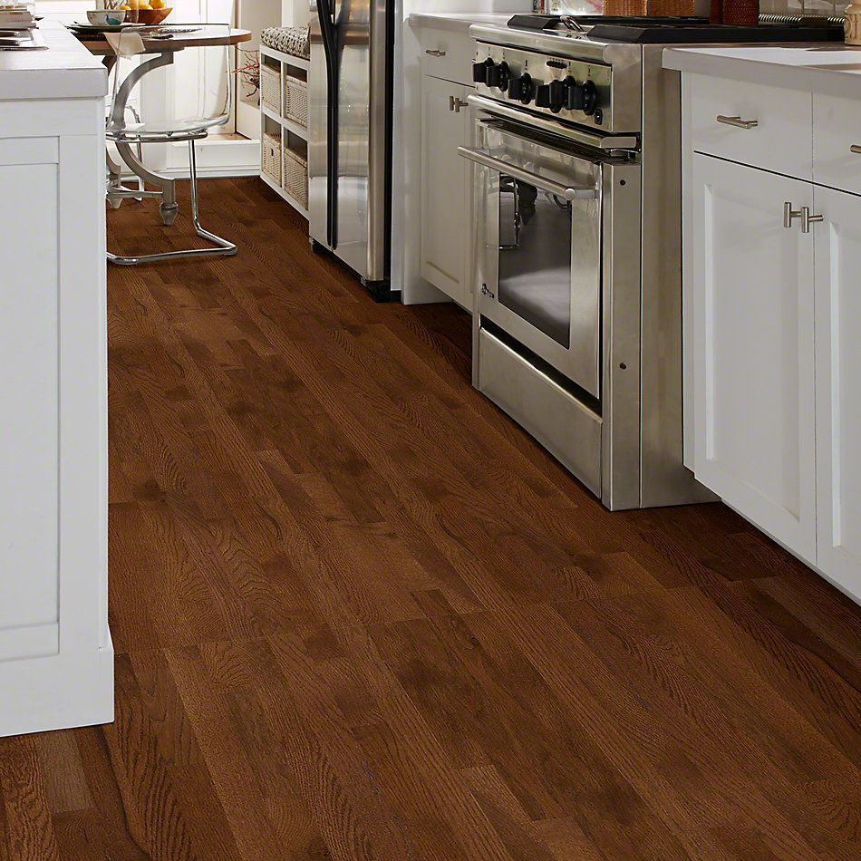 Shaw Floors Shaw Hardwoods Bellingham 2.25 Saddle 00401_SW475