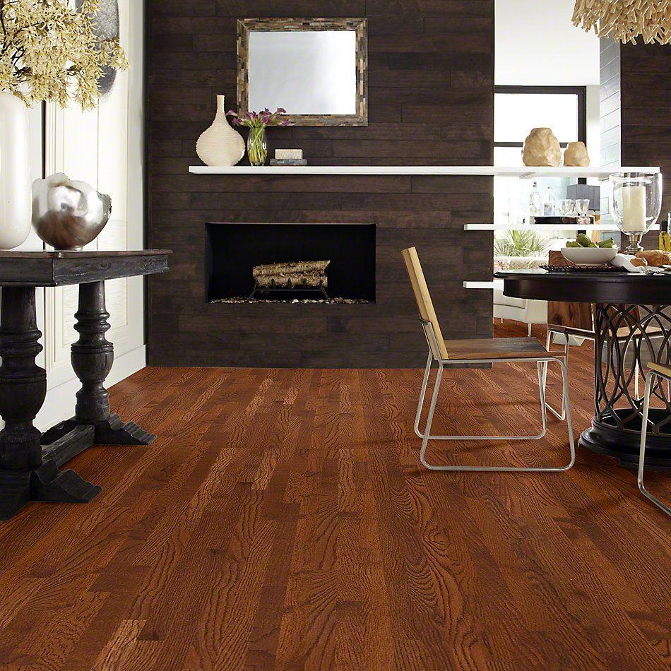 Shaw Floors Shaw Hardwoods Bellingham 70 Gloss 2.25 Saddle 00401_SW569