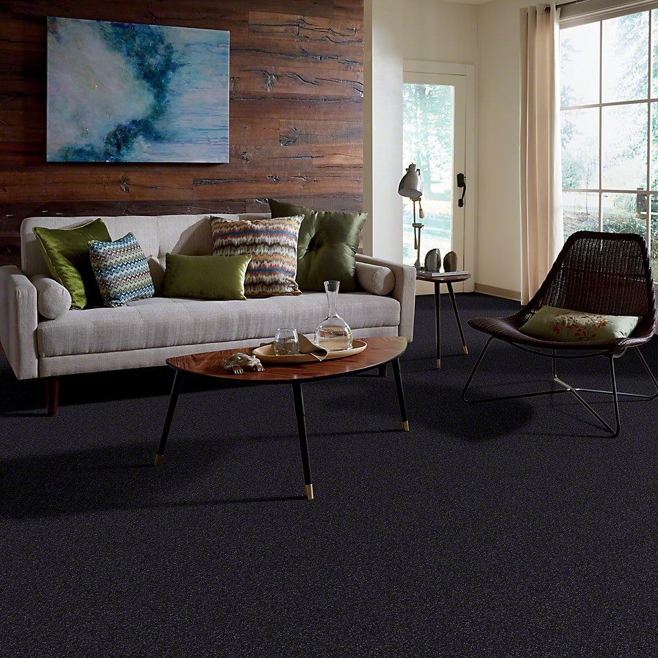 Shaw Floors SFA Awesome 6 (s) Stunning Navy 00401_E0745