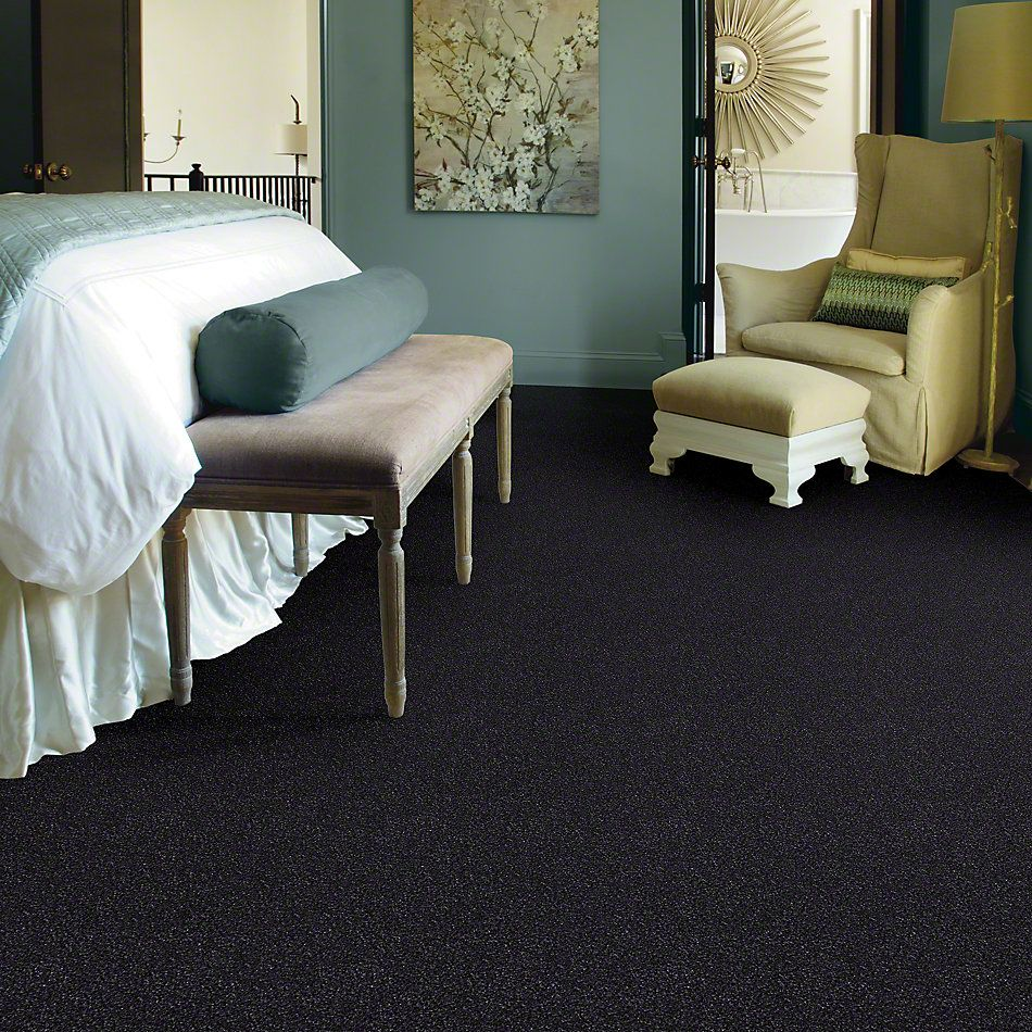 Shaw Floors You Know It Stunning Navy 00401_E0807