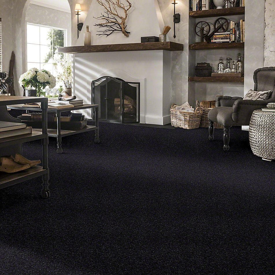 Shaw Floors What's Up Stunning Navy 00401_E0813