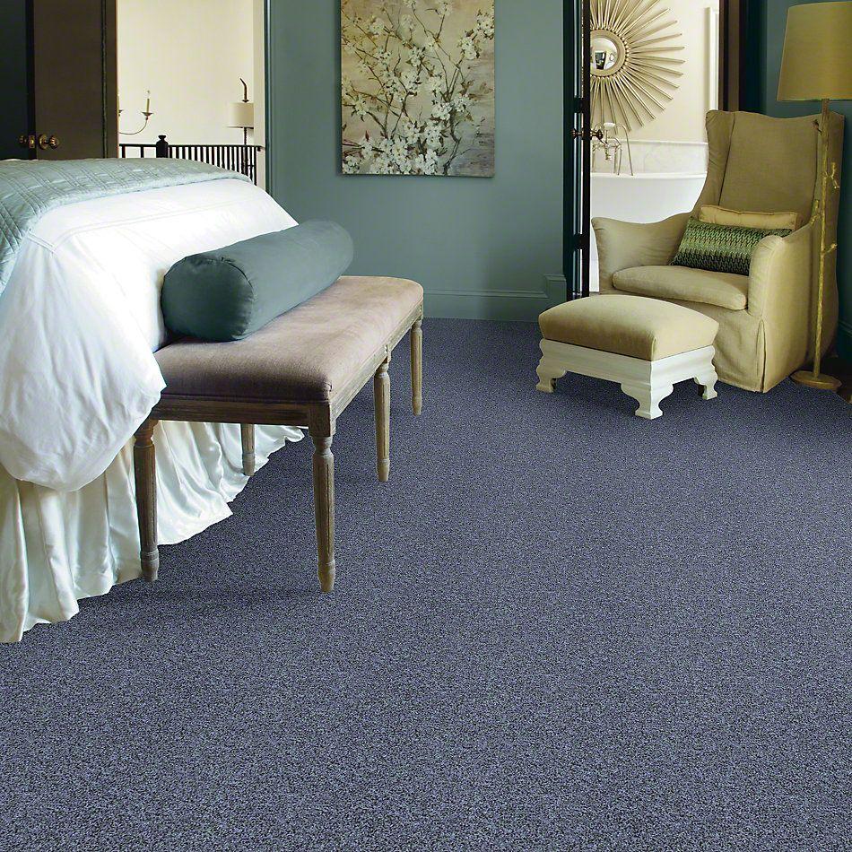 Shaw Floors Value Collections Dazzle Me Texture Net Denim 00401_E0884