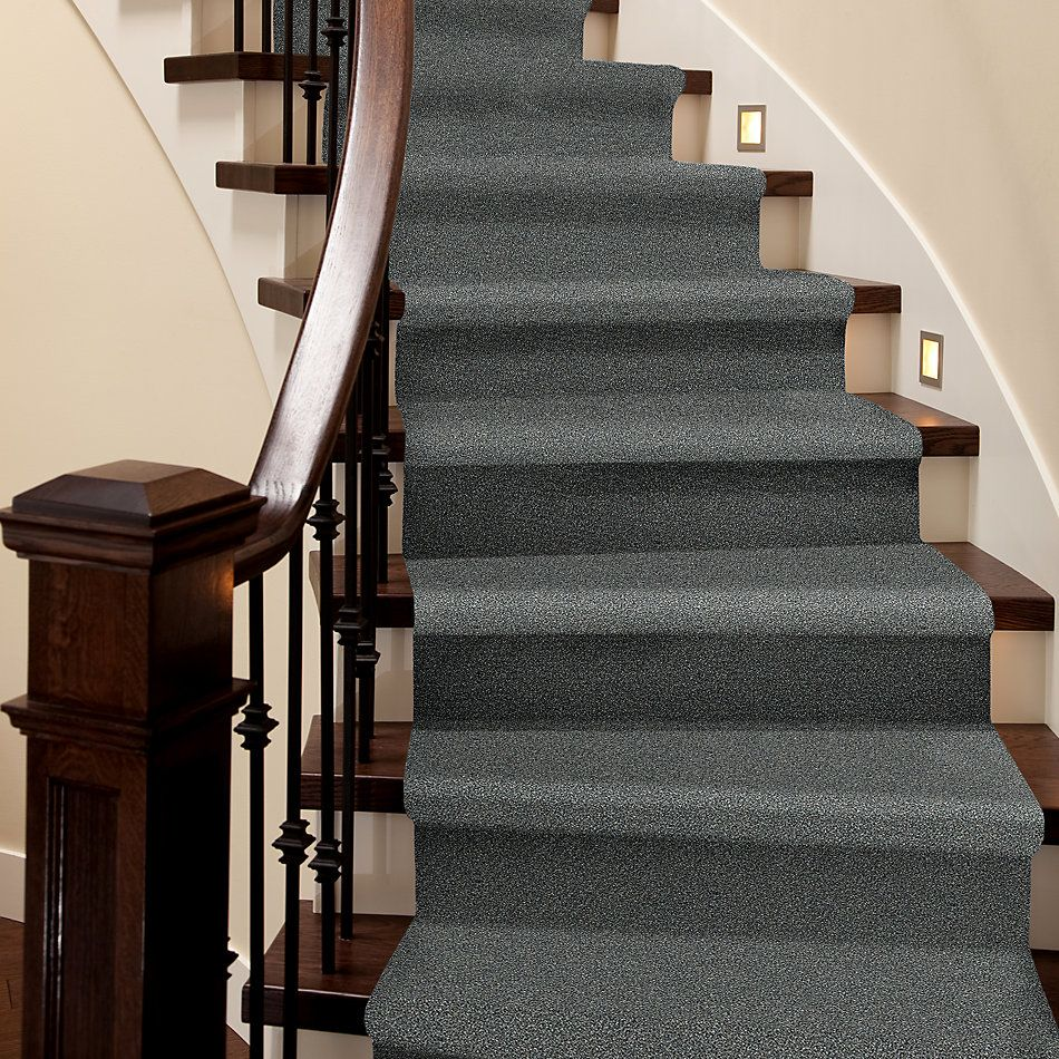 Shaw Floors Bellera Points Of Color I Net Slate 00401_E9785