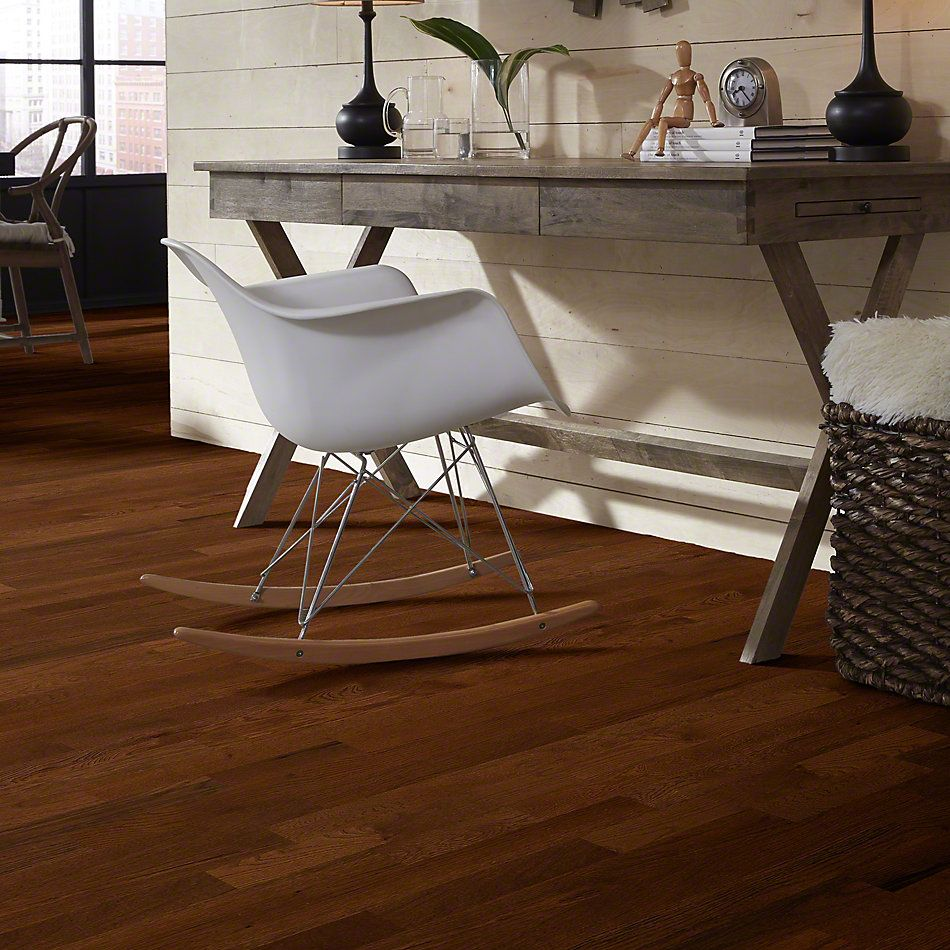 Shaw Floors Home Fn Gold Hardwood Family Reunion 3.25 Saddle 00401_HW425