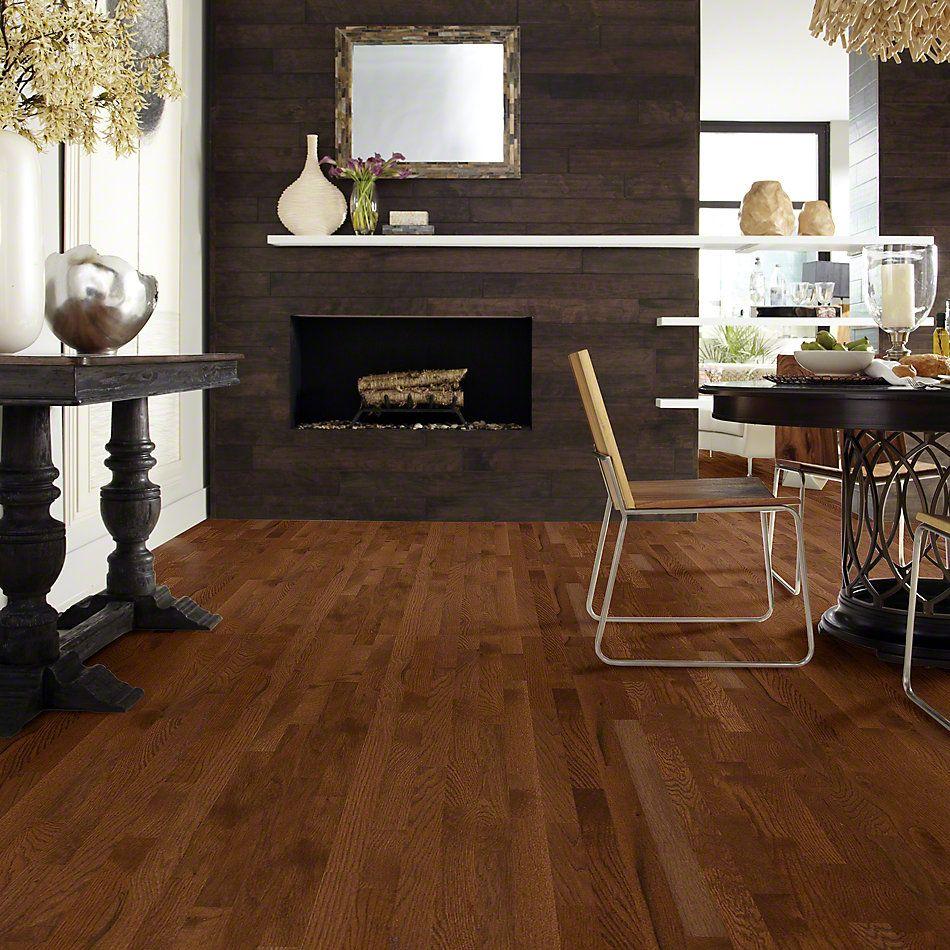 Shaw Floors Nfa Premier Gallery Hardwood Edenwild 2.25 Saddle 00401_VH029