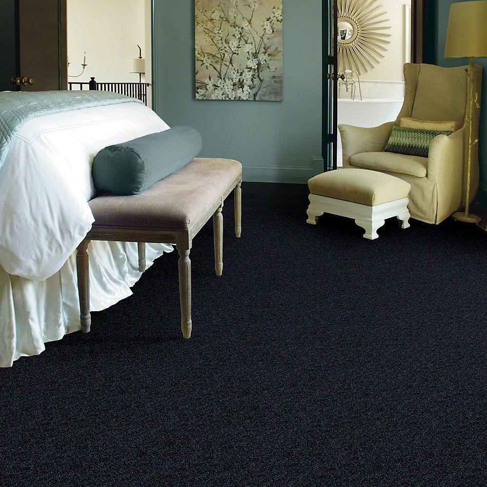 Shaw Floors SFA Enjoy The Moment II 15′ Dark Denim 00402_0C139
