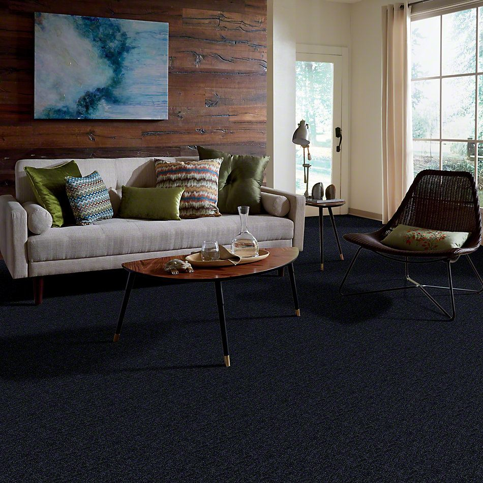 Shaw Floors SFA Enjoy The Moment III 15′ Dark Denim 00402_0C140