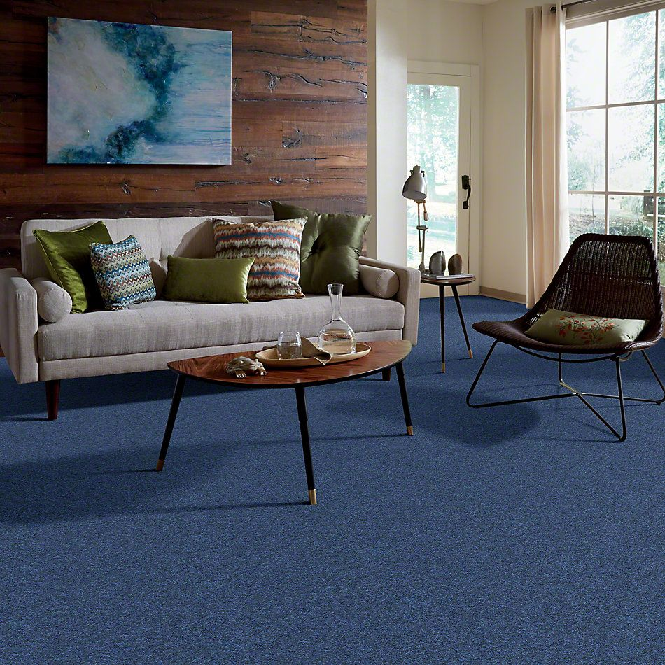 Shaw Floors Clearly Chic Bright Idea III Brilliant Blue 00402_E0506