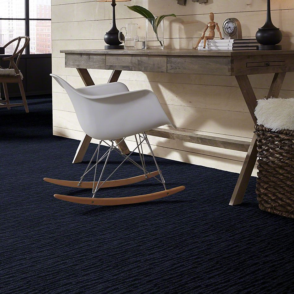 Shaw Floors Foundations Truly Stunning New Navy 00402_E0636