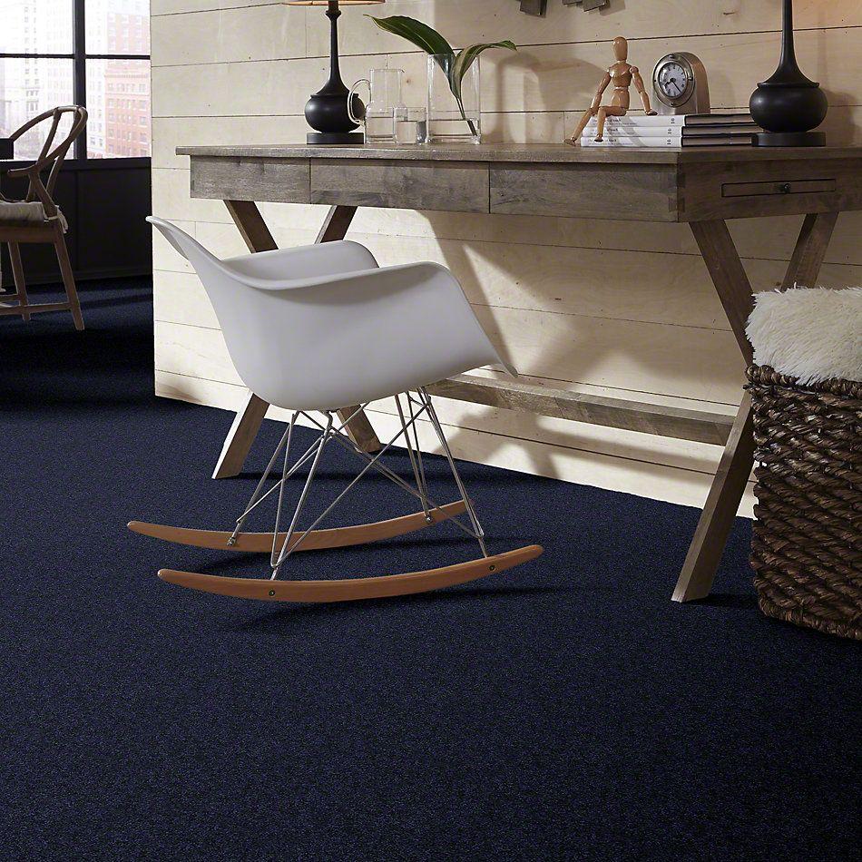 Shaw Floors Clearly Chic Bright Idea II New Navy 00403_E0505