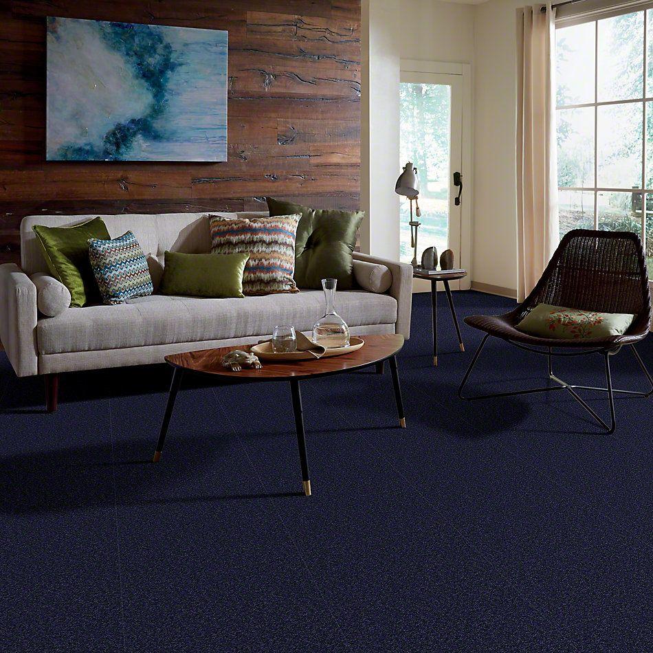 Shaw Floors Queen Sandy Hollow I 15′ Indigo 00404_Q4274
