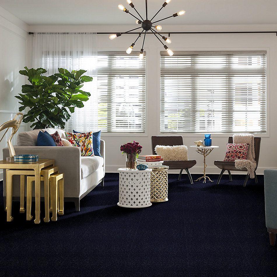 Shaw Floors Shaw Floor Studio Bright Spirit II 12′ Indigo 00404_Q4650
