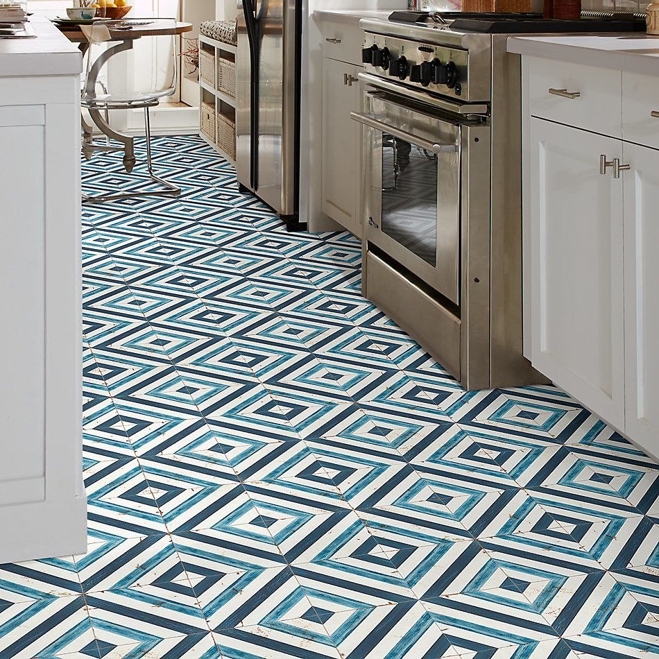 Shaw Floors Ceramic Solutions Islander 8×8 Blue Daze 00410_CS50Z