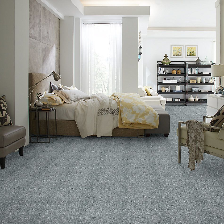 Shaw Floors Value Collections Cashmere III Lg Net Wedgewood 00421_CC49B