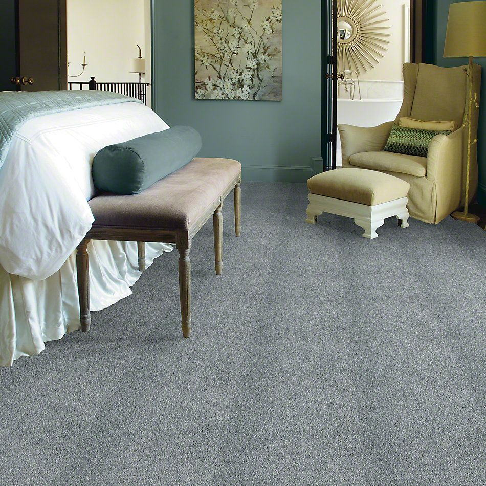 Shaw Floors Caress By Shaw Cashmere Classic III Wedgewood 00421_CCS70