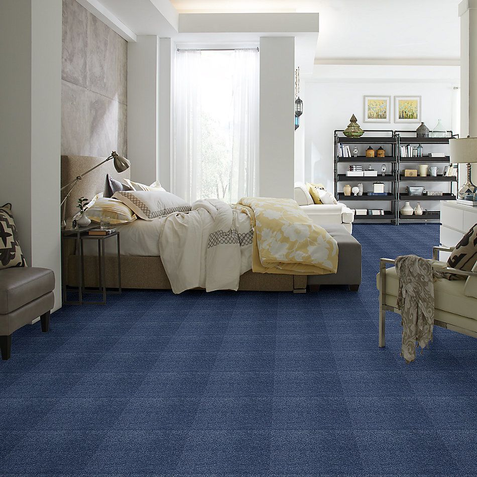 Shaw Floors Caress By Shaw Cashmere II Lg True Blue 00423_CC10B