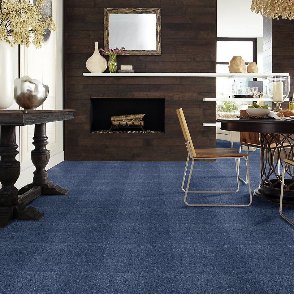 Shaw Floors Caress By Shaw Cashmere Iv Lg True Blue 00423_CC12B