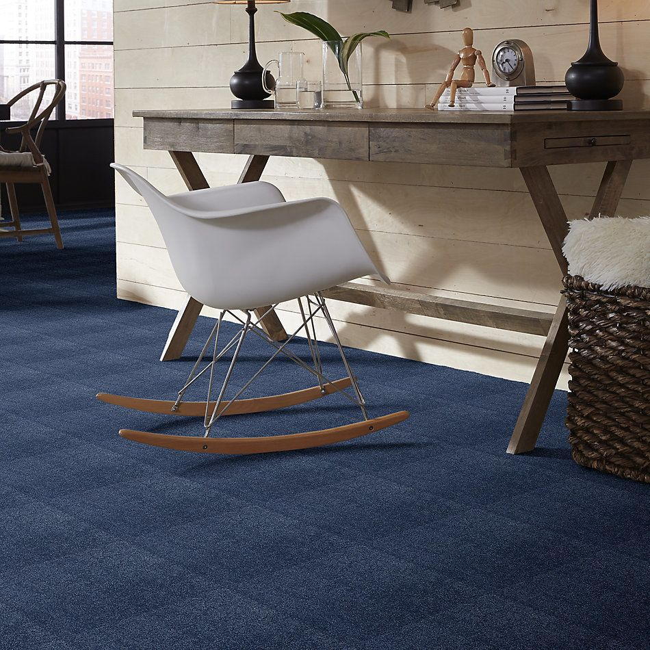 Shaw Floors Value Collections Cashmere II Lg Net True Blue 00423_CC48B