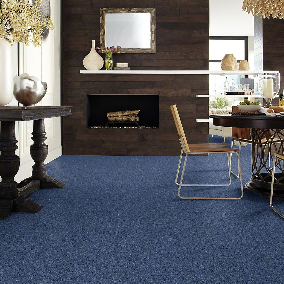 Shaw Floors Caress By Shaw Quiet Comfort Classic I True Blue 00423_CCB96