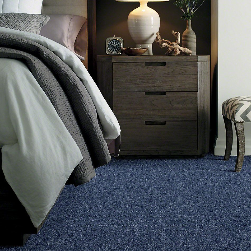 Shaw Floors Caress By Shaw Quiet Comfort Classic II True Blue 00423_CCB97