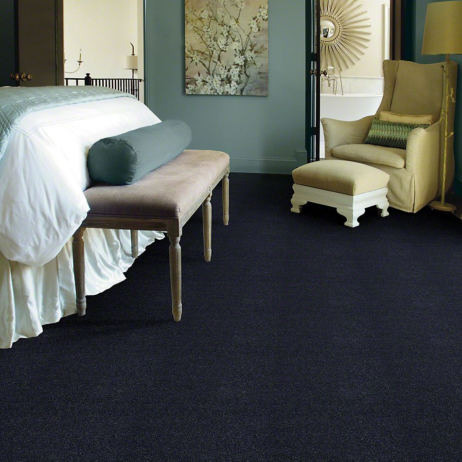 Shaw Floors Caress By Shaw Cashmere Classic III Deep Indigo 00424_CCS70