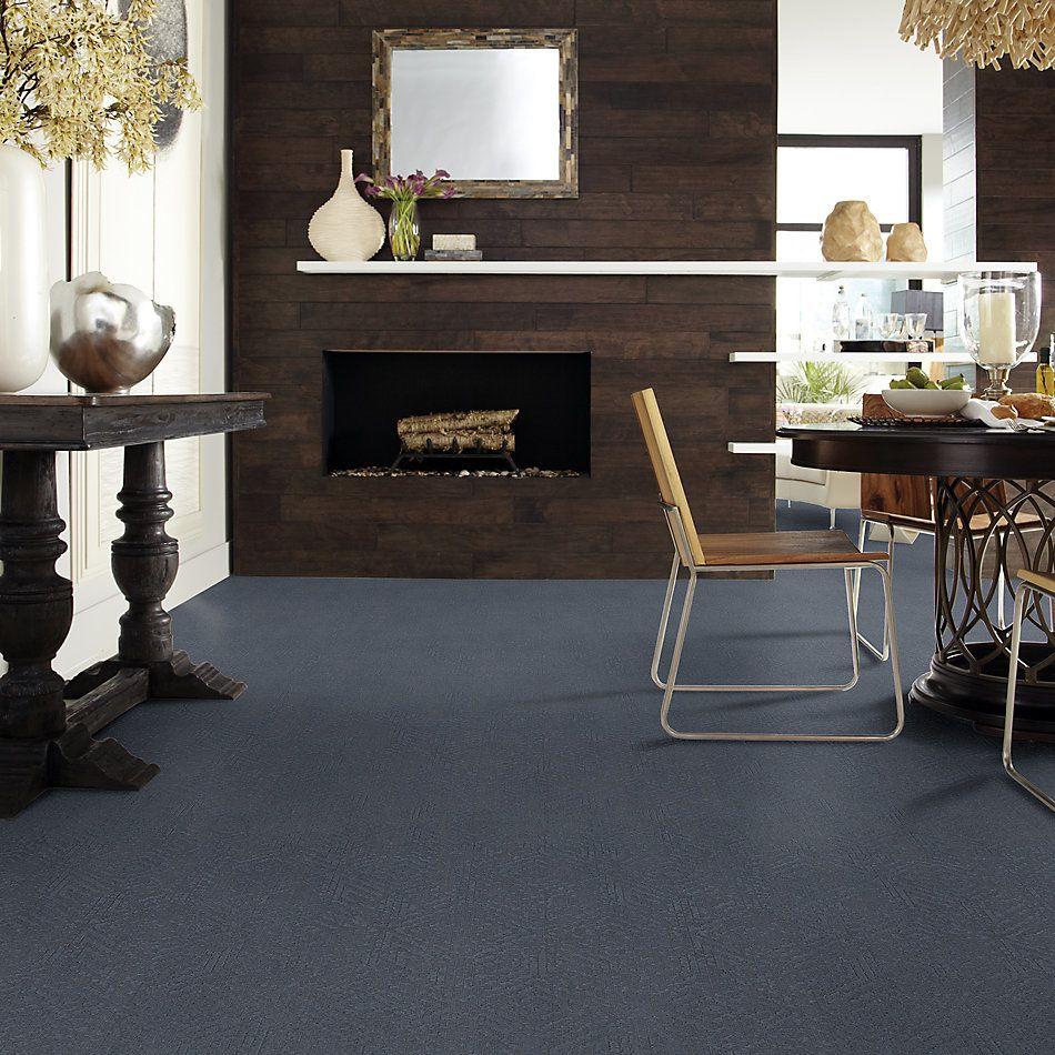 Shaw Floors Caress By Shaw Vintage Revival Net Deep Sea 00433_5E381